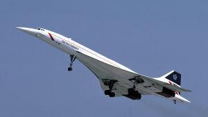 British Airways Concorde i maj 1986.