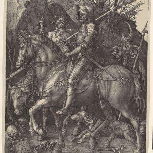 Ritari, kuolema ja paholainen, Albrecht Dürer (1471–1528), 1513