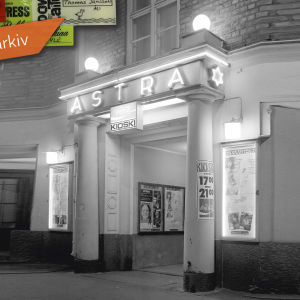 Tölöbiografen Astra innan Q-teatern flyttade in.