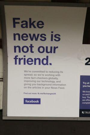 "Facebook ogillar ""Fake News"""