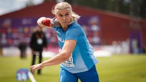 Eveliina Rouvali, U23-EM 2019.