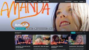 Dramaserien Amanda.