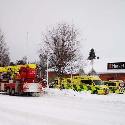Tulipalo, pelastuslaitos, viranomaiset