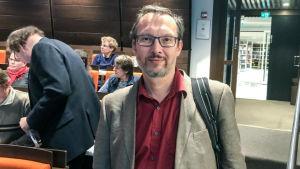 Mikael Moring, Strålsäkerhetscentralen år 2017 på Åland.