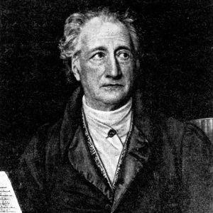 Johann Wolfgang von Goethe (1749-1832). J.K. Stielerin maalaus v. 1828