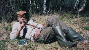 Eräopas Esa Kallio vuonna 1998.