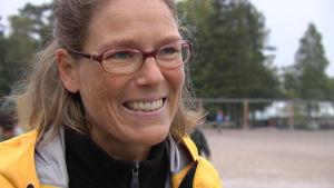 Johanna Pipping-Arrakoski, klasslärare i Mattlidens skola i Esbo.