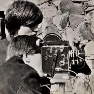 Claes och Christian Olsson på 60-talet