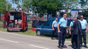 Polis i Saint-Quentin Fallavier