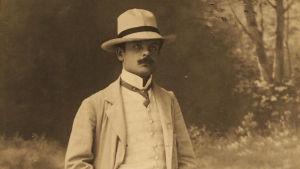 Toivo Kuula Leipzigissä 1909.