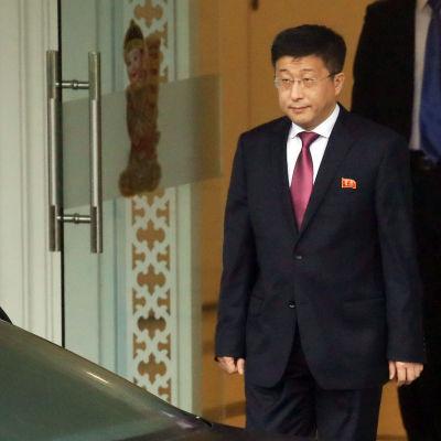 Den nordkoreanska nedrustningsexperten Kim Hyok-Chol.