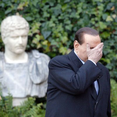 Italiens premiärminister Silvio Berlusconi