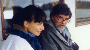 Stina Ericsson och hennes far Per-Olof Nyström, PON eller Peppe.