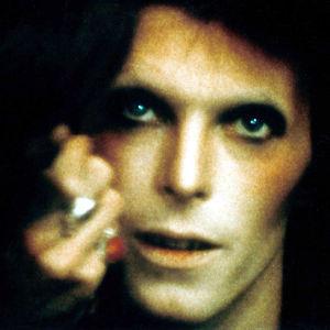 David Bowie alias Ziggy Stardust vuonna 1973.