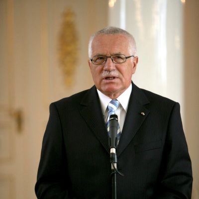 Václav Klaus i FInland