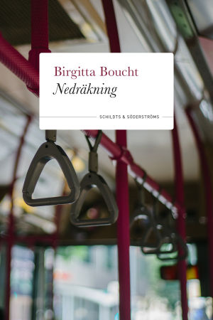 """Bild på bokomslaget till """"Nedräkning"""" skriven av Birgitta Boucht."""