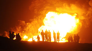 Oljeexplosion i Afghanistan