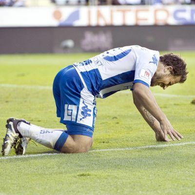 IFK Göteborgs stjärna Tobias Hysén var inte nöjd med mycket efter hemmaförlusten mot HJK.