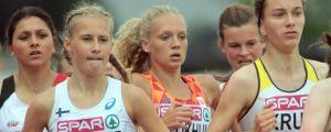 Nathalie Blomqvist, U18-EM 2018.