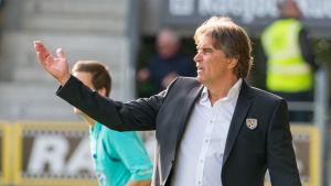 Alexei Eremenko Senior tränare i SJK.