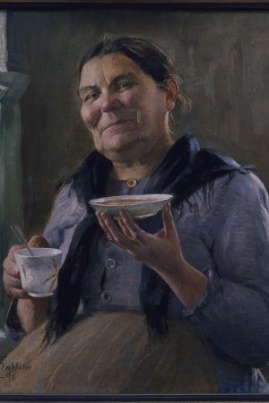 Kaffegumma av Anna Sahlsten, 1895