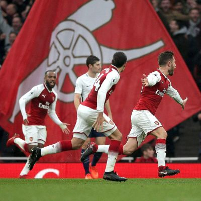 Arsenal jublar.