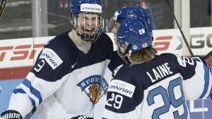 Puljujärvi och Laine.