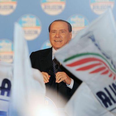 Silvio Berlusconi i Turin 17.02.13