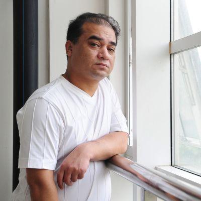 Ilham Tohti kuvattuna Pekingissä, Kiinassa kesäkuussa 2010.