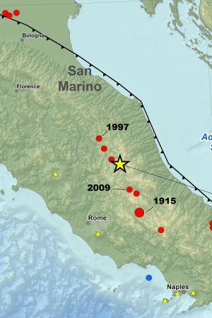 Seismolog Bavningar Med Den Styrkan Inte Ovanliga Utrikes
