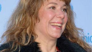 Den svenska konstnären och radioprofilen Stina Wollter.