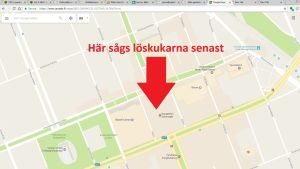 Karta över Vasa