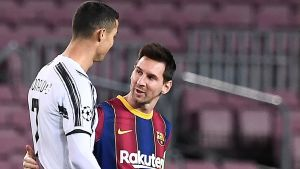 Lionel Messi och Cristiano Ronaldo