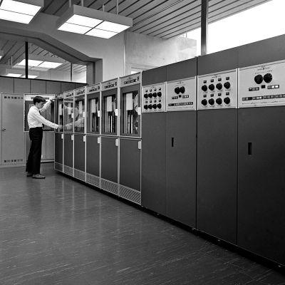 Yles ADB-central år 1968.