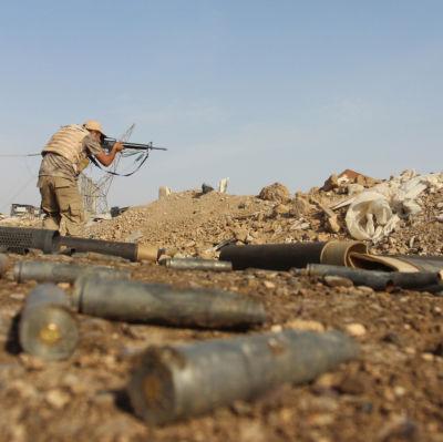 Vapen i Irak.