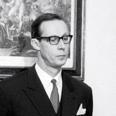 Industrimannen och diplomaten Tankmar Horn.
