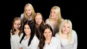 Borgånejdens luciakandidater 2014