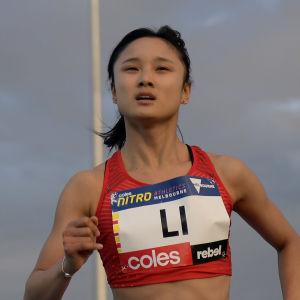 Meizhen Li har en bakgrund som friidrottare.