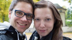 Jan-Anders och Åsa Broo.