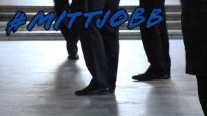Personer på en arbetsplats