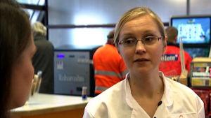 Helmisimpukka -ketjun kehityspäällikkö Nina Lyytinen