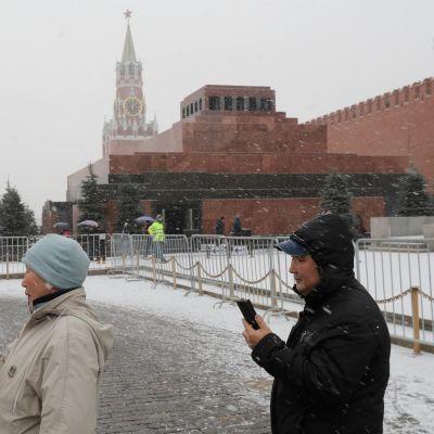 Moskovan Punaisella torilla