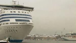 Silja Line i hamnen.