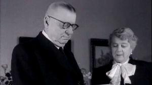 Juho Kusti ja Alli Paasikivi.