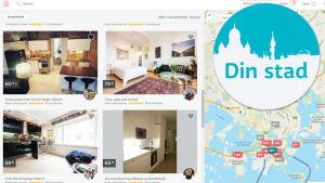 Din stad-teamet har tagit reda på vad Airbnb-värdarna i huvudstadsregionen tar för boendet.