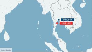 Bombdad mot tag i sodra thailand