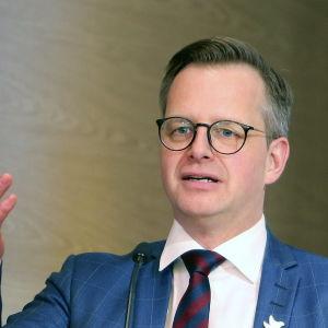 Sveriges inrikesminister Mikael Damberg.