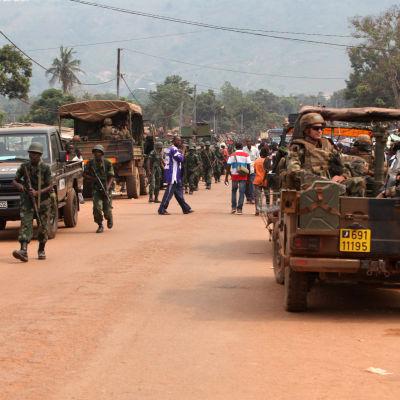 Franska soldater i Centralafrikanska republiken