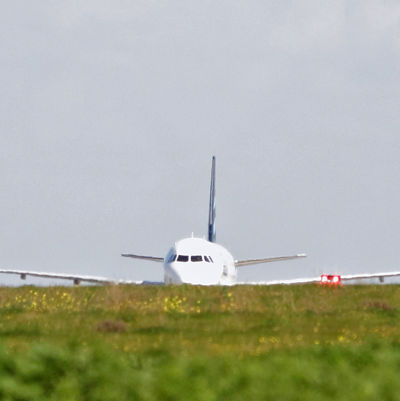 Kapat libyskt plan på Maltas flygplats.