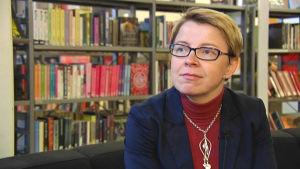 Johanna Selkee, sakkunnig i biblioteksfrågor vid Kommunförbundet.